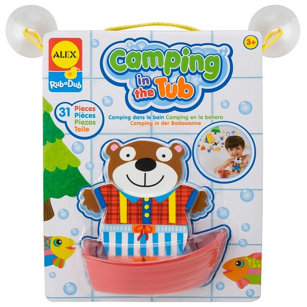 Alex Badkarsstickers Camping in the Tub