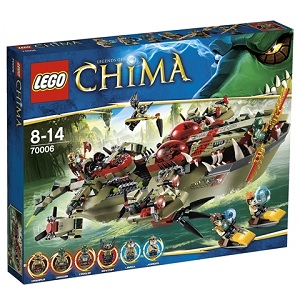 LEGO Chima Craggers stridsskepp