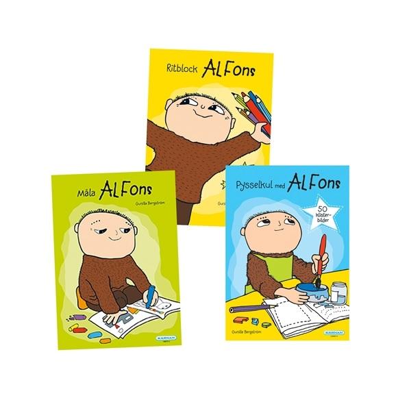 Alfons Åberg Paket 1 Aktivitetsböcker