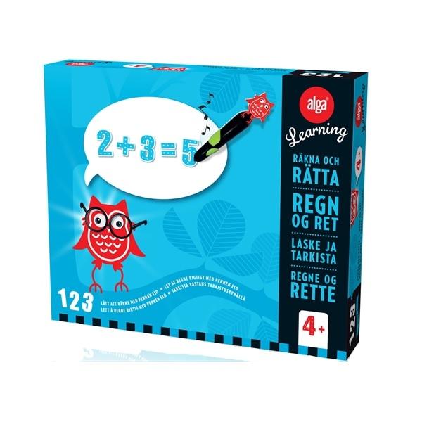 Alga Learning 123 Steg 2 Räkna & rätta