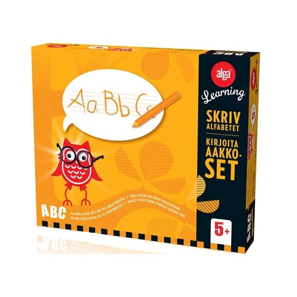 Alga Learning ABC Steg 2 Skriv alfabetet
