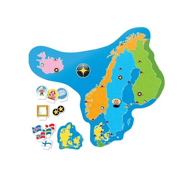 Alga Learning Geografi Land & plats