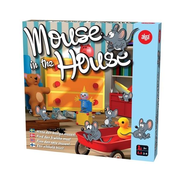 Alga Spel Mouse in The House