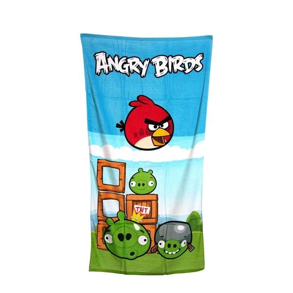 Angry Birds Badlakan 70x140 cm