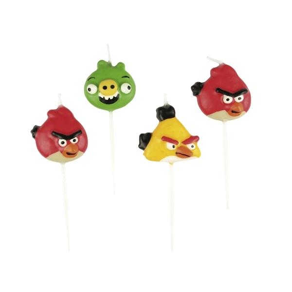 Angry Birds Figurljus 4 st