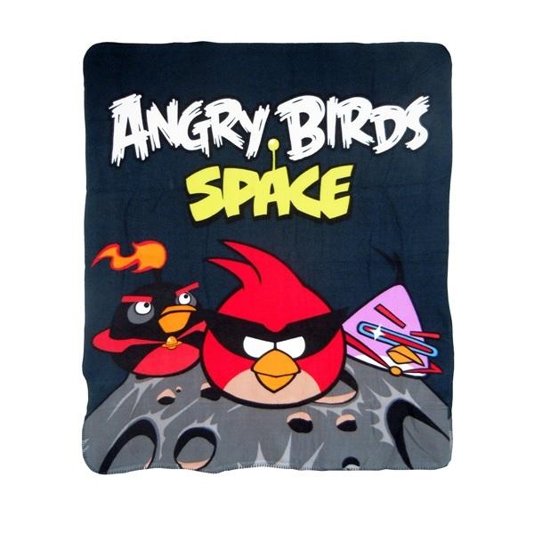 Angry Birds Fleecefilt Space