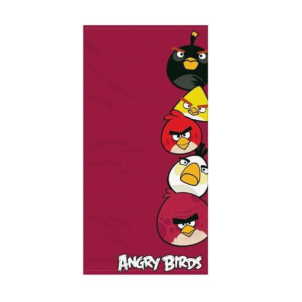 Angry Birds Handduk Röd