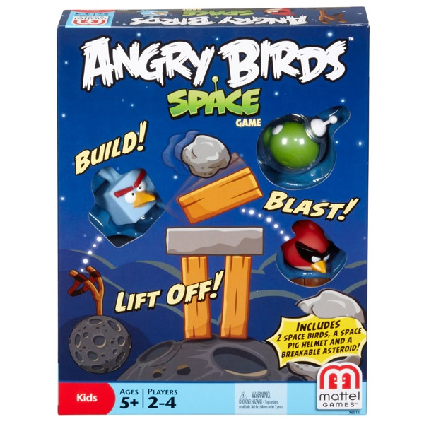 Angry Birds In Space spel