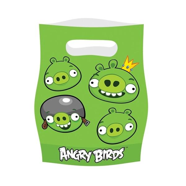 Angry Birds Kalaspåsar 6 st