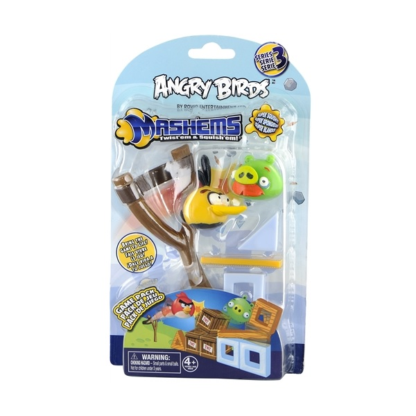 Angry Birds Mash'Ems Game Pack Gul