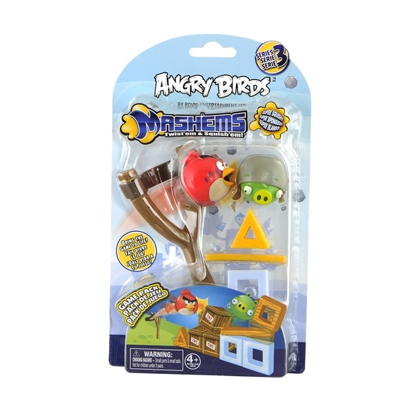 Angry Birds Mash'Ems Game Pack Röd