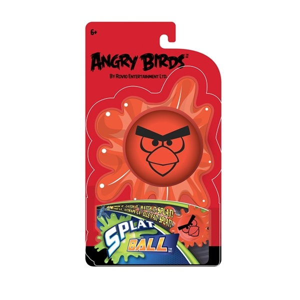 Angry Birds Mash'Ems, Splat ball Red