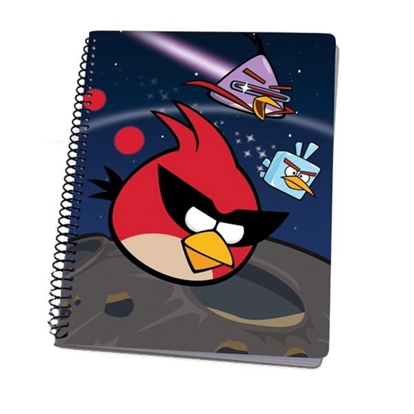 Angry Birds Spiralblock A5 60 ark