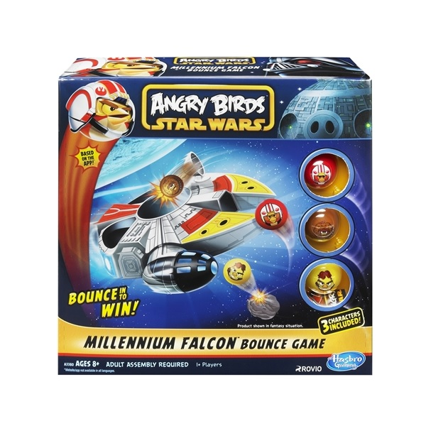 Angry Birds Star Wars Bounce Millennium Falcon Game