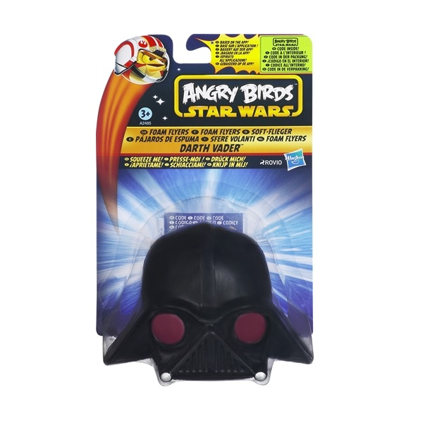 Angry Birds Star Wars Foam Flyers Darth Vader