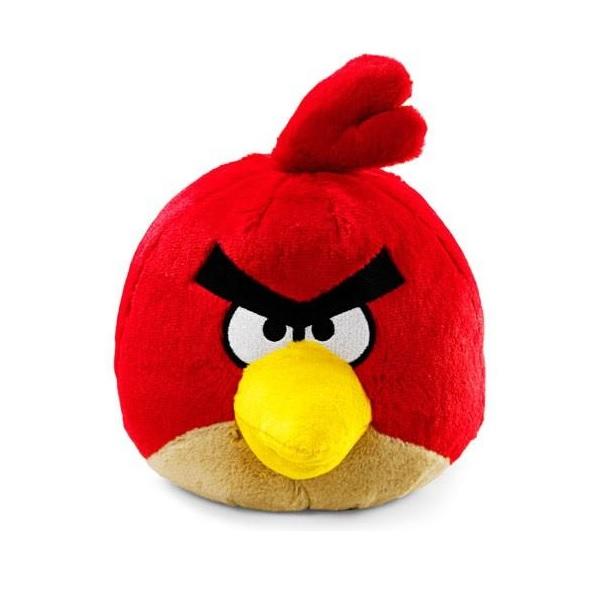 Angry Birds mjukisdjur med ljud Röd