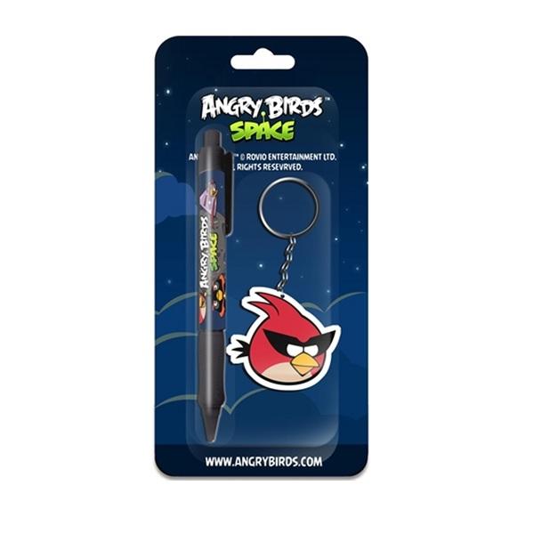 Angry Birds nyckelring och penna