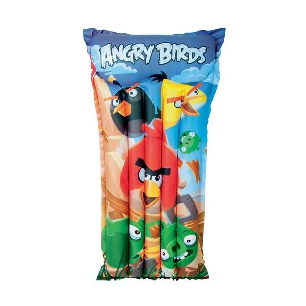 Bestway Luftmadrass Angry Birds 120x61 cm
