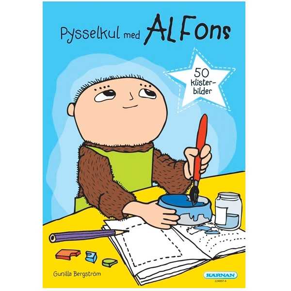 Pysselbok Alfons Åberg