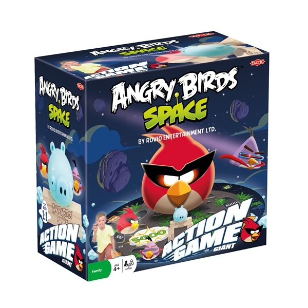 Tactic Space Action Game Angry Birds