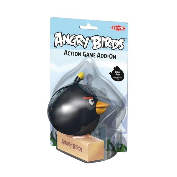 Tactic Tillbehör till Angry Birds utomhusspel Svart fågel