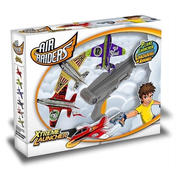 Air Raiders Superflyers Xtreme Launcher Flygplan