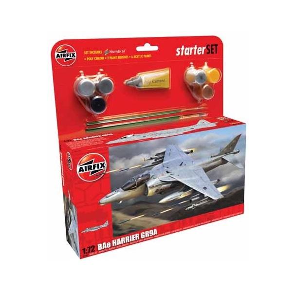 Airfix Starter Set BAe Harrier GR9A 1:72