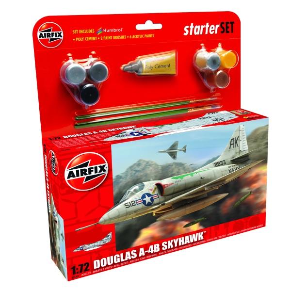 Airfix Starter Set Douglas A4-B Skyhawk 1.72