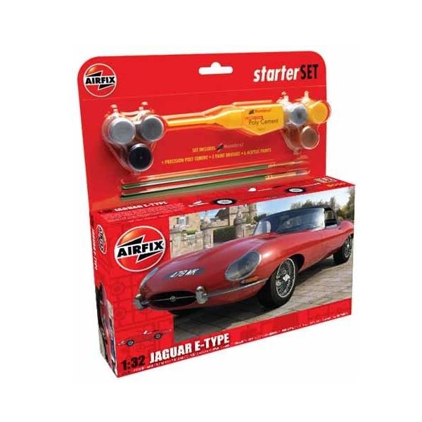 Airfix Starter Set Jaguar E-Type 1:32