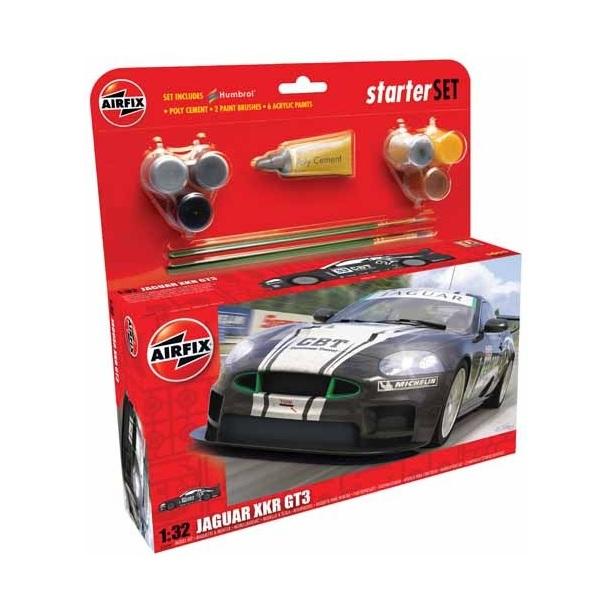 Airfix Starter Set Jaguar XKR GT3 1:32