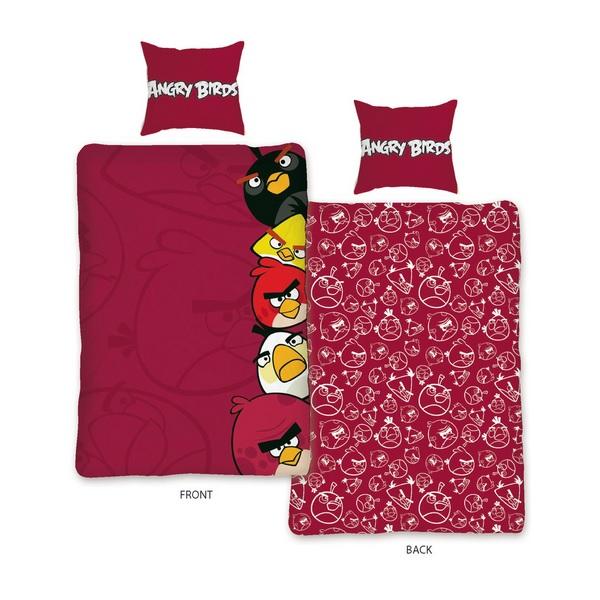 Angry Birds Påslakanset Röd