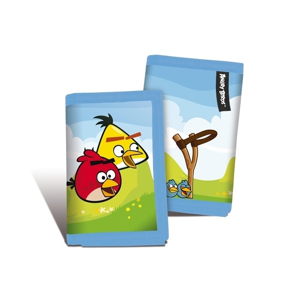 Angry Birds Plånbok Blå i 3-lager