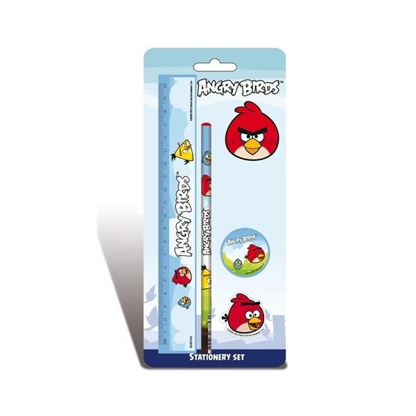 Angry Birds Skrivset Blå