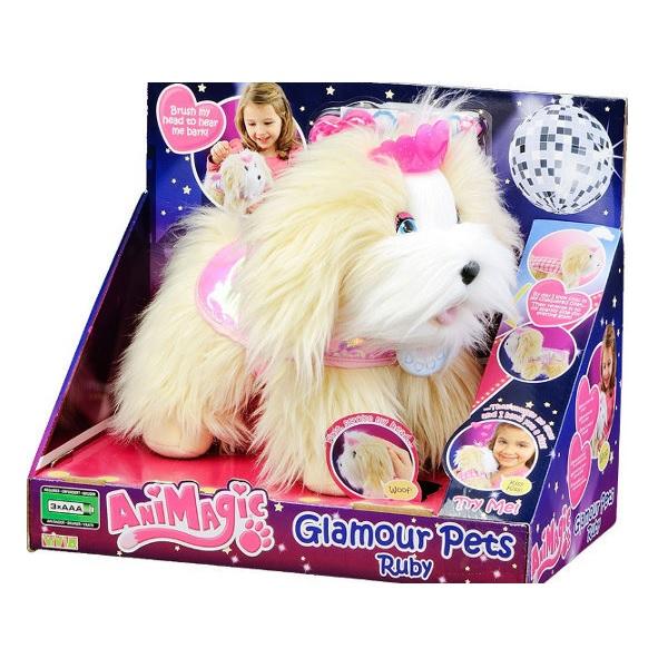 Animagic Glamour Puppy Ruby