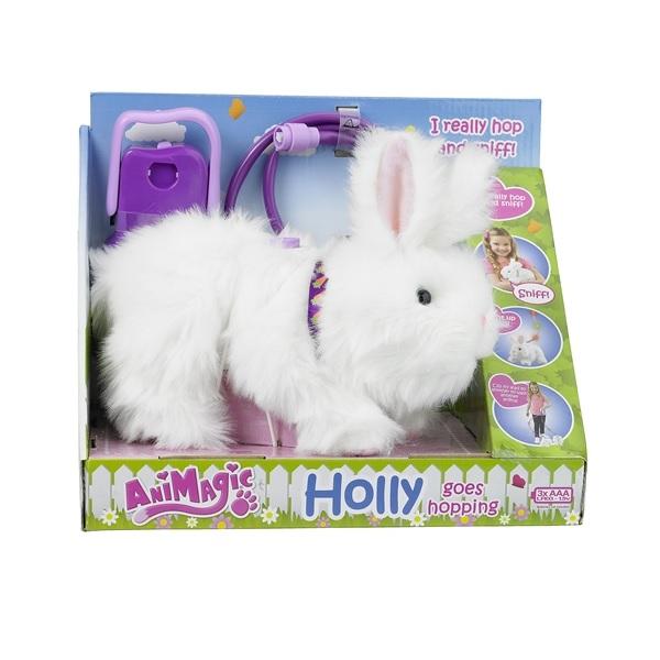 Animagic Holly Goes Hopping Lila