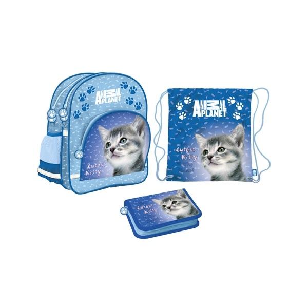 Animal Planet Skolstart Blå Paket