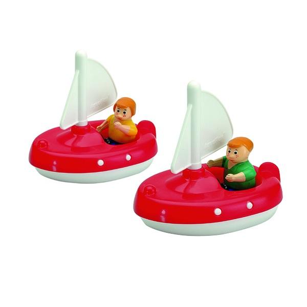 AquaPlay 222 Två Segelbåtar med två Figurer