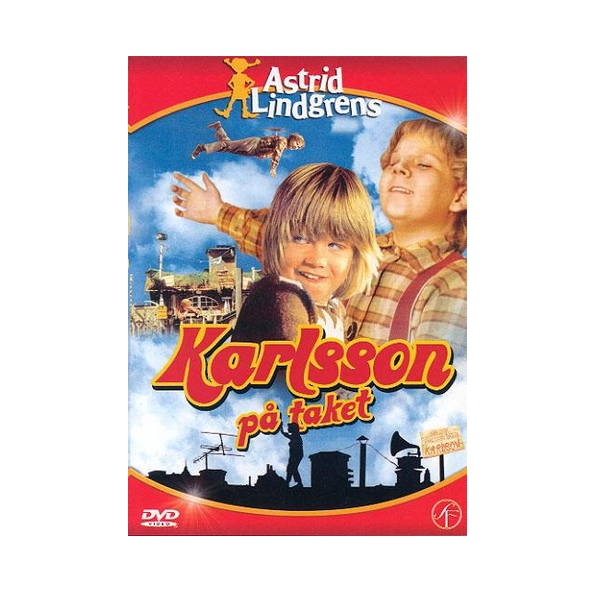 Astrid Lindgren DVD Karlsson på taket