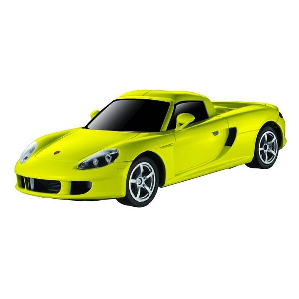 Auldey 1:28 Porsche Carrera GT - Gul