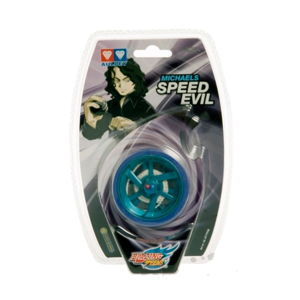 Auldey YoYo Speed Evil Blue