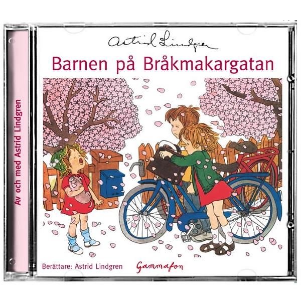 Barnen på Bråkmakargatan ljudbok CD