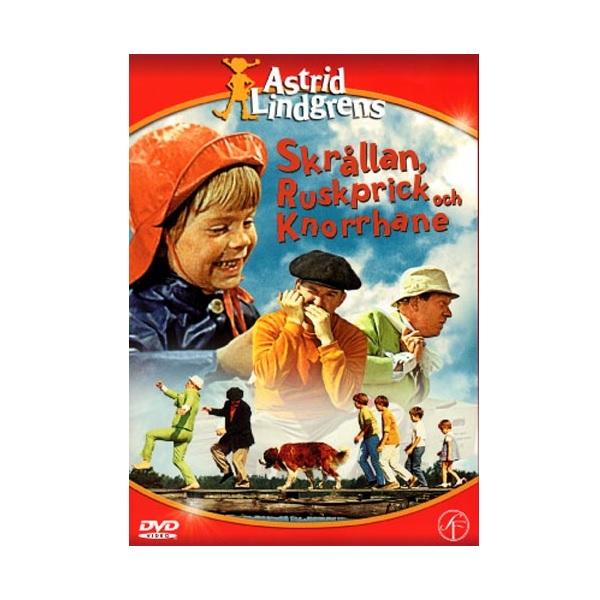 DVD Skrållan Ruskprick och Knorrhane