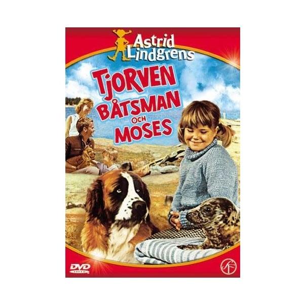 DVD Tjorven Båtsman och Moses