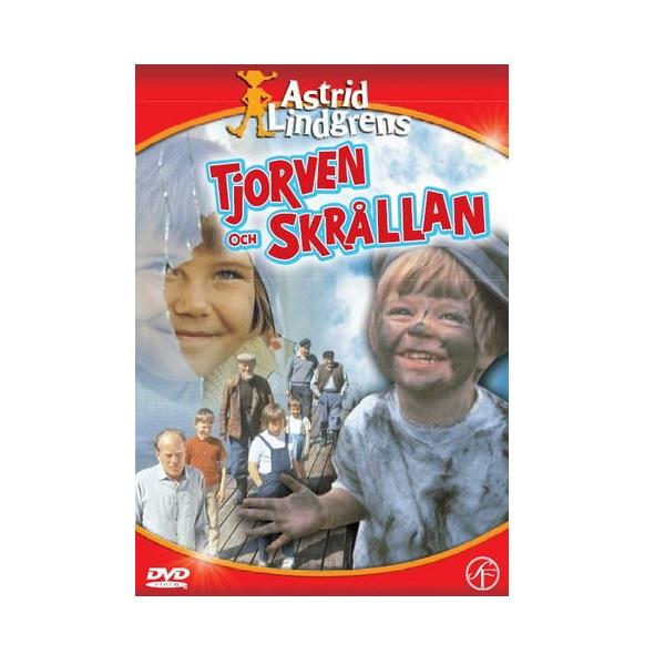 DVD Tjorven och Skrållan