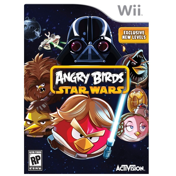 Wii Angry Birds - Star Wars