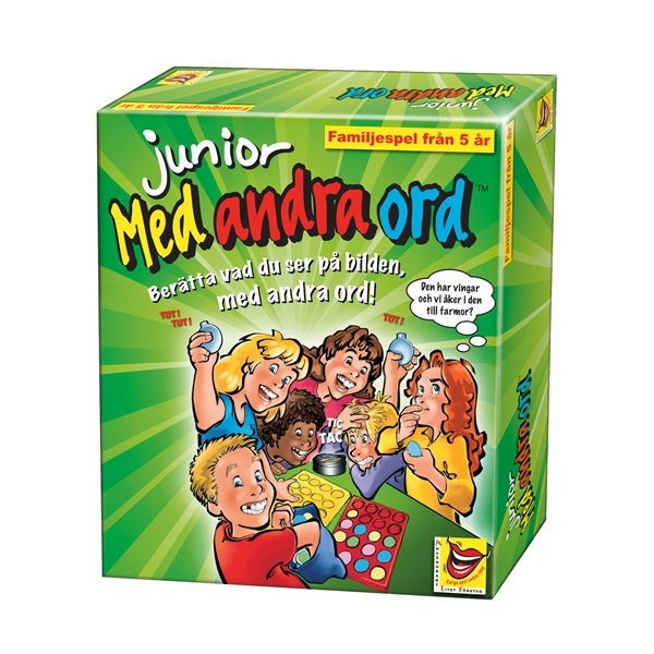 ALF Med andra ord Sällskapsspel Junior