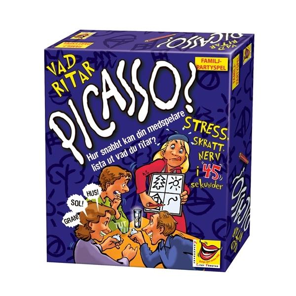 ALF Vad ritar Picasso Sällskapsspel