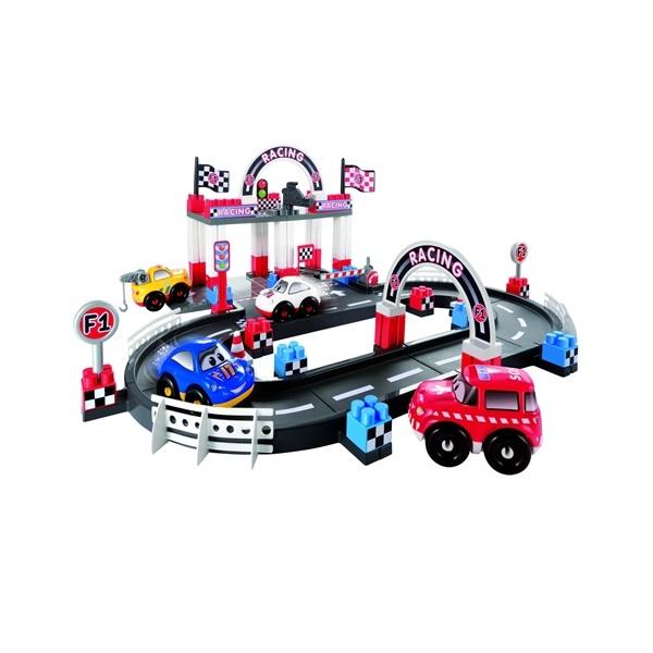 Abrick Fast Car Bilbana med bilar