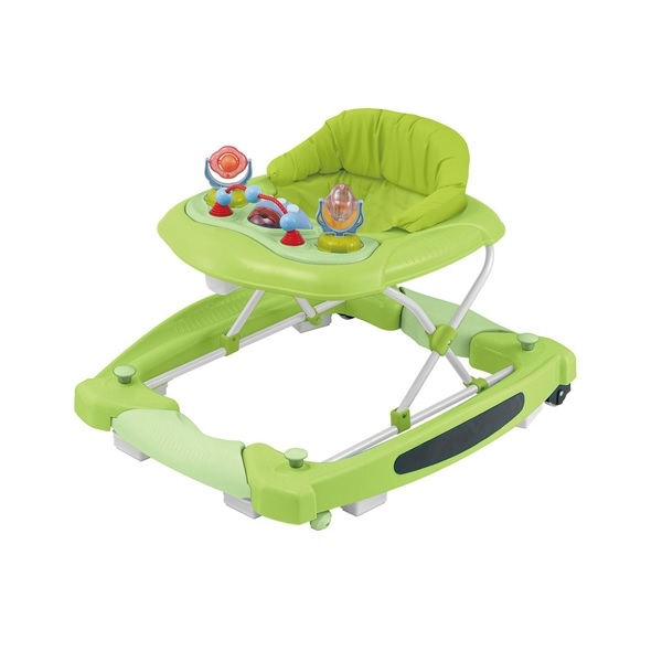 Baby Trold Lära-gå-stol Gunga Lime