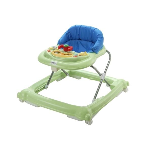 Baby Trold Lära-gå-stol Lime